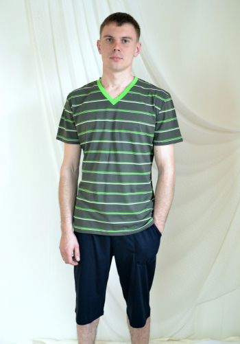 Комплект мужской из кулирки Арт-2002 Р/Р 48-54