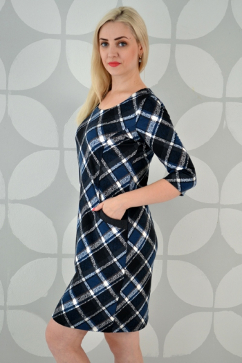 Платье из трикотажного полотна Арт-2325 Р/Р 52-58