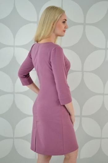 Платье из трикотажного полотна Арт-2327 Р/Р 48-54