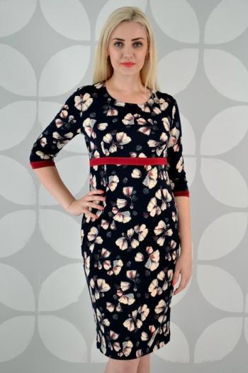 Платье из трикотажного полотна Арт-2329 Р/Р 50-54