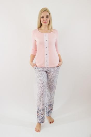 Пижама из комбинированных полотен Арт-2347 Р/Р 48-54