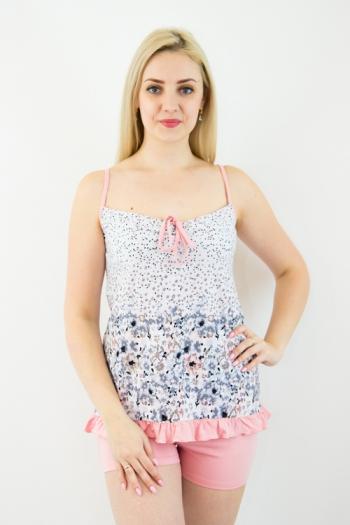 Пижама из комбинированных полотен Арт-2348 Р/Р 42-48