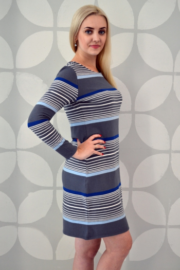 Платье из трикотажного полотна Арт-2353 Р/Р 44-50