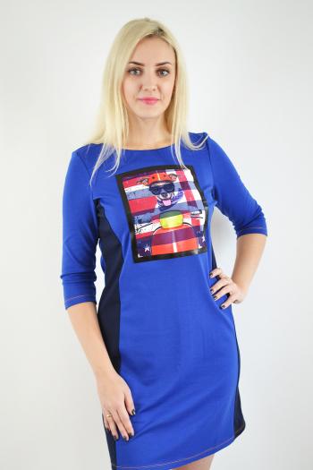 Платье из трикотажного полотна Арт-2367 Р/Р 46-50