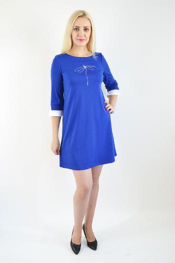 Платье из трикотажного полотна Арт-2376 Р/Р 44-50