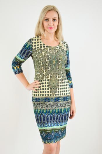 Платье из трикотажного полотна Арт-2389 Р/Р 48-54