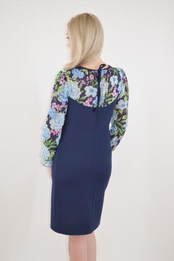 Платье из трикотажного полотна Арт-2391 Р/Р 46-52