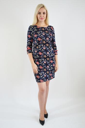 Платье из трикотажного полотна Арт-2407 Р/Р 46-52