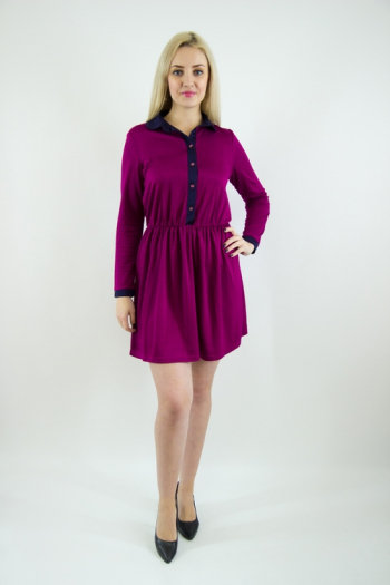 Платье из трикотажного полотна Арт-2460 Р/Р 42-46