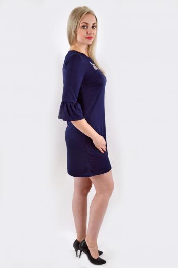 Платье из трикотажного полотна Арт-2461 Р/Р 44-48