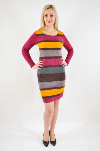 Платье из ангоры Арт-2479 Р/Р 46-50
