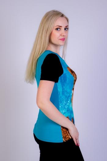 Блуза из вискозы Арт-2615 Р/Р 48-54