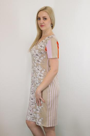 Платье из вискозы Арт-2684 Р/Р 48-54