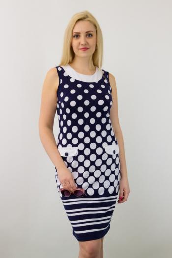 Платье из фулл лайкры Арт-2686 Р/Р 48-54