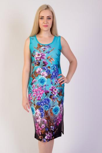 Платье из трикотажного полотна Арт-2705 Р/Р 44-50