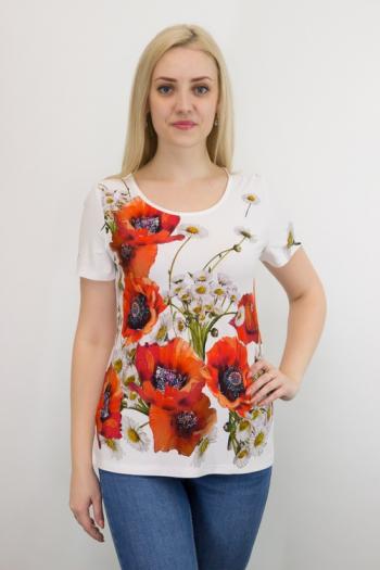 Блуза из вискозы Арт-2717 Р/Р 50-56
