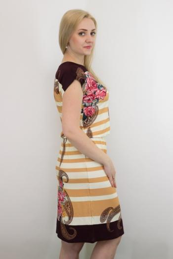 Платье из вискозы Арт-2738 Р/Р 50-56