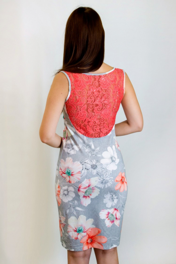 Платье из вискозы Арт-2854 Р/Р 42-48