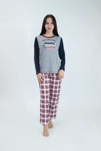 Пижама из комбинированных тканей Арт-2954 Р/Р 48-54