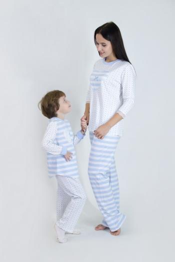 Пижама из хлопка Арт-2972 Р/Р 44-50