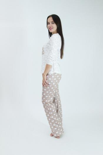 Пижама из 100 % хлопка Арт-2979 Р/Р 44-50