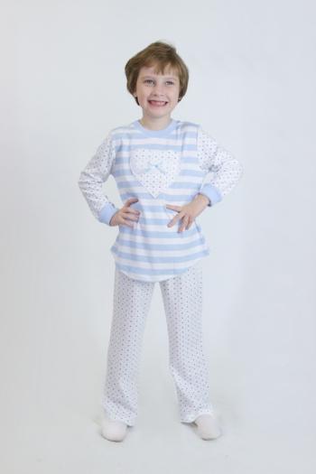 Детская пижама из интерлока Арт-5007 размерный ряд 104-122