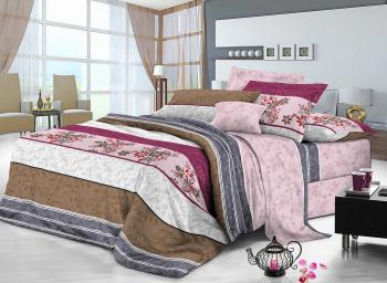 Комплект постельного белья сатин Арт-9101