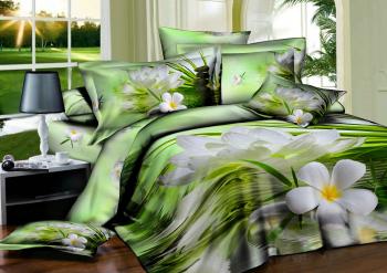 Комплект постельного белья сатин Арт-9102