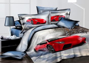 Комплект постельного белья ЛАМБОРДЖИНИ Арт-9109