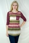 Блуза из вязаного трикотажного полотна Арт-1937 Р/Р 46-52