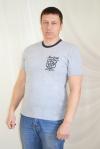 Мужская футболка из 100% хлопка Арт-1400 Р/Р 48-54
