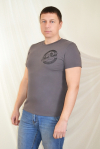 Мужская футболка из фулл лайкры Арт-1402 Р/Р 48-54