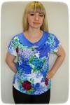 Блуза из вискозы Арт-1539 Р/Р 54-58