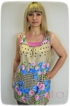 Блуза из вискозы Арт-1607 Р/Р 46-52