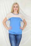 Блуза из вискозы Арт-2032 Р/Р 48-54