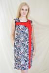 Платье из кулирного полотна Арт-2160 Р/Р 50-56