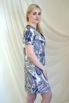 Платье из трикотажного полотна Арт-2220 Р/Р 46-52