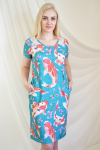 Платье из фулл лайкры Арт-2234 Р/Р 50-58