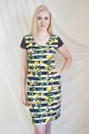 Платье из вискозы с лайкрой Арт-2237 Р/Р 48-54