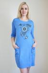 Платье из вискозы с лайкрой Арт-2275 Р/Р 48-56