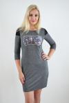 Платье из трикотажного полотна Арт-2366 Р/Р 42-46
