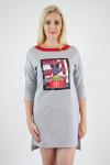 Платье из футера Арт-2368 Р/Р 44-48
