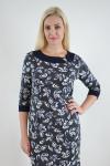 Платье из трикотажного полотна Арт-2373 Р/Р 52-56