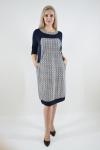 Платье из трикотажного полотна Арт-2375 Р/Р 52-56