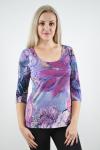 Блуза из трикотажного полотна Арт-2378 Р/Р 44-54