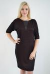 Платье из жаккардового полотна Арт-2404 Р/Р 48-54