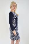 Платье из трикотажного полотна Арт-2405 Р/Р 48-54