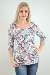 Блуза из трикотажного полотна Арт-2412 Р/Р 48-54