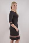 Платье из трикотажного полотна Арт-2433 Р/Р 48-54