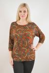 Блуза из трикотажного полотна Арт-2474 Р/Р 50-58